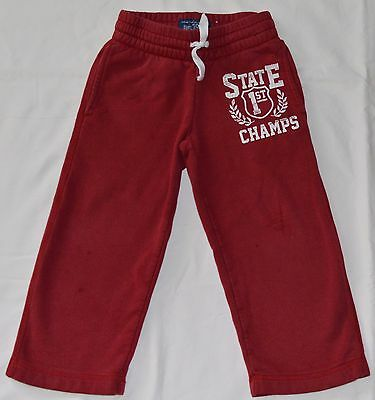Boys Children's Place Red Sweat Pants - Size XS 4