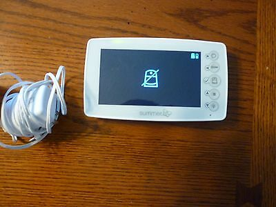 Summer Infant 29590 Panorama Digital Color Video Baby Monitor NO CAMERA