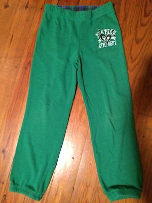 Justice Girls Size 8 Green Sweat Pants