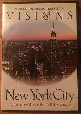 Visions of New York City (DVD, 2010)
