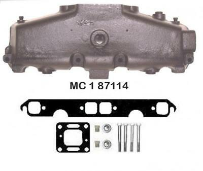 """5.0L, V8 """"Wet"""" Joint Mercruiser Style Exhaust Manifold. Replaces MERC 1983-2002"""