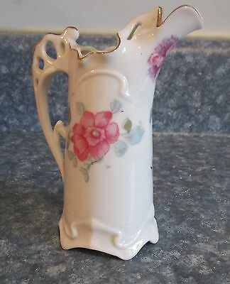 Antique Royal Crown Hand Painted Small Pitcher #3990