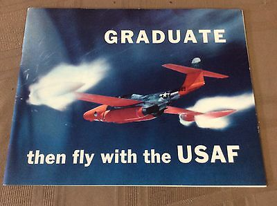 1953 Graduate Then Fly with the USAF booklet