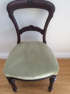 6 x Antique Wooden Dining Chairs