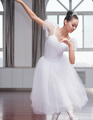 WhitProfessional Romantic Ballet tutu Dress - CUSTOM Made - Comes in more colors