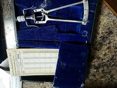 Sklar Schiotz Tonometer-Vintage Collectable.