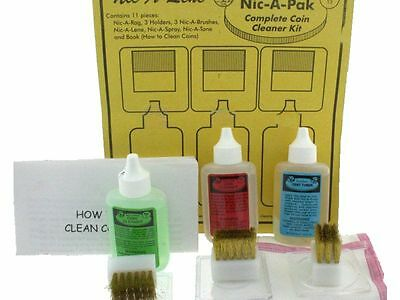 Nic-A-Pak, Complete Coin Cleaner Combo Kit