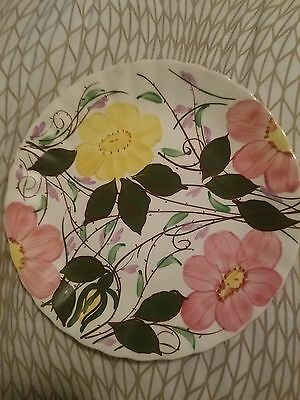 Blue Ridge Southern Potteries Wildwood Flower Plate (RARE)