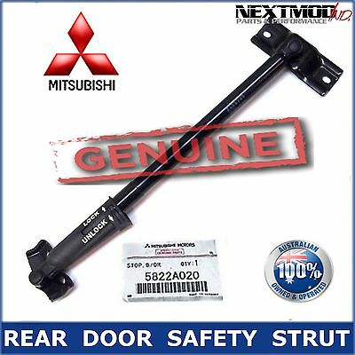 MITSUBISHI GENUINE PAJERO REAR DOOR SAFETY STRUT Tailgate 2006-2017 NS NT NW NX