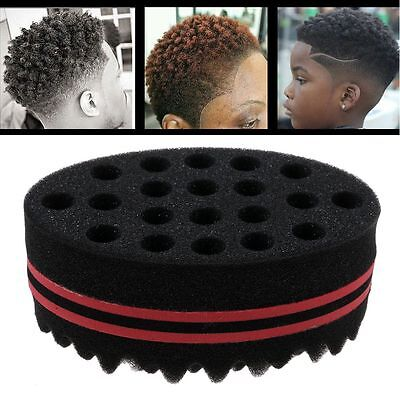 Mens Womens Wave Barber Hair Sponge Brush for Dreads Afro Locs Twist Curl Coil