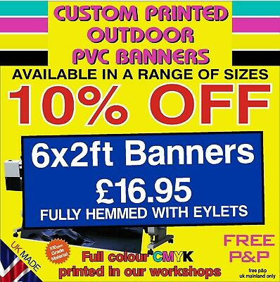 Custom Printed Heavy Duty  Pvc Banner Out Door Sign Display