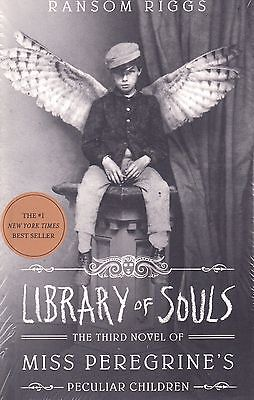 Library of Souls Miss Peregrine's vol 3 by Ransom Riggs NEW BOOK (Paperback 2016