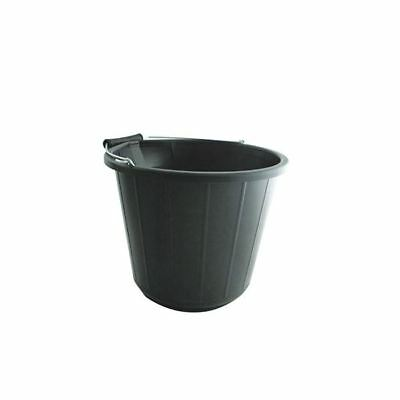 Heavy Duty Bucket 14 Litre Black VOW/BUCKET.01 [CX01119]