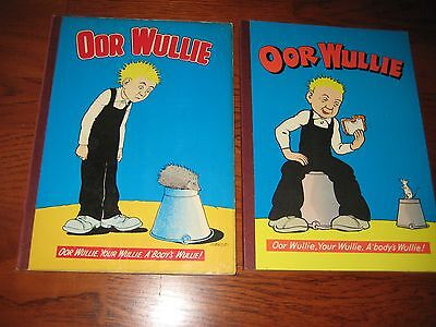 oor wullie annuals 1970 and 1972