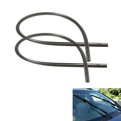 26 Inch 6mm Frameless Windshield Wiper Blade Refill For Car Silicone Universal