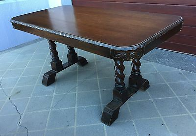 Antique English Oak Table (Central Coast)