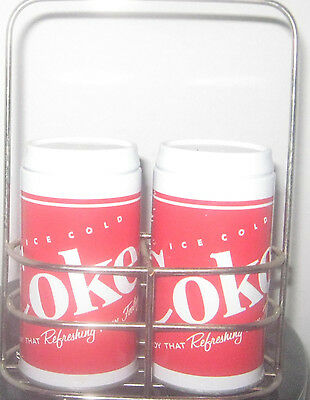 2 Items Of Coca Cola Collectibles, One Used, One New In Package
