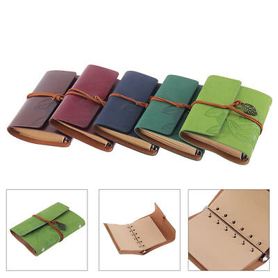 Beautiful Classic Retro Notebook Leather Diary Note Book Journal Sketchbook