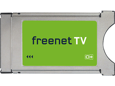 Freenet TV CI+ Modul DVB-T2 HD 4K/UHD Geräte Privatsender Encoding PAY-TV