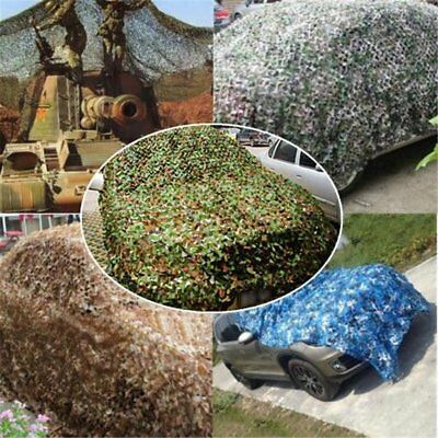 Camouflage Netting Camo Net Cover Blinds For Sunshade Camping Shooting DE