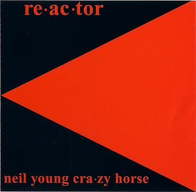 Reactor Neil Young And Crazy Horse Vinyl Record vinile lp ...