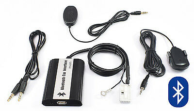 Bluetooth AUX Adapter Interface Freisprechanlage VW RCD RNS MFD 200 210 300 1 2