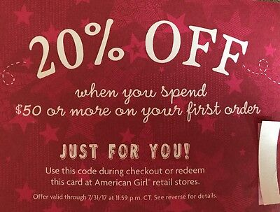 American Girl Doll 20% off $50 + Coupon Promo Code Fast Delivery within hours!