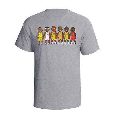 Basketball Legends By VIPwees Hombres camiseta T-Shirt