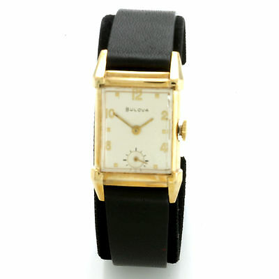 Vintage 21-Jewel Manual Wind Bulova Watch CA1950s