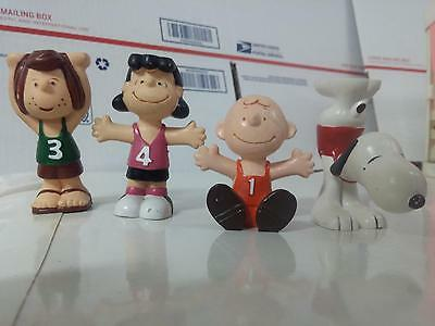 1952 Charlie Brown Lot of 4 vintage snoopy Lucy Peppermint Patty Old Authentic