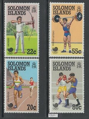 XG-AJ705 SOLOMON ISLANDS IND - Olympic Games, 1988 Korea Seoul '88 MNH Set