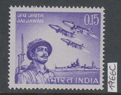 XG-AK821 INDIA IND - Army, 1966 Indian Armed Forces MNH Set