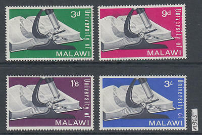 XG-AK597 MALAWI - Education, 1965 University, 4 Values MNH Set