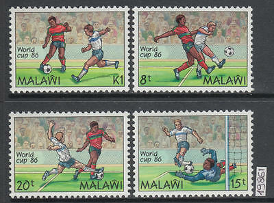 XG-AK585 MALAWI - Football, 1986 Mexico World Cup MNH Set