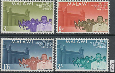 XG-AK612 MALAWI - Aviation, 1965 Uprising Anniversary MNH Set