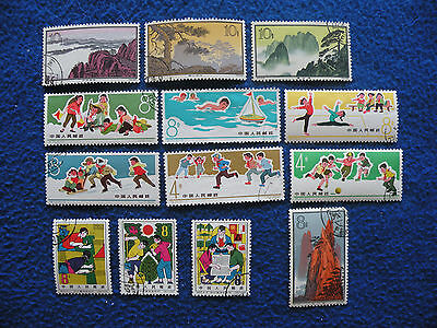 P.R.China Stamp Collection Used ( 5 )