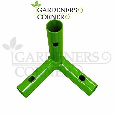 4 x METAL CORNER FOR GROW TENT ROOM REPLACEMENT SPARE CORNERS 3 WAY CONNECTOR