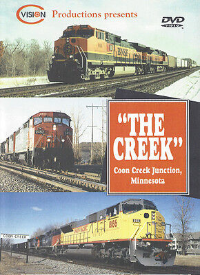 The Creek - Coon Creek Junction Minnesota BNSF CN CP UP C Vision Productions DVD