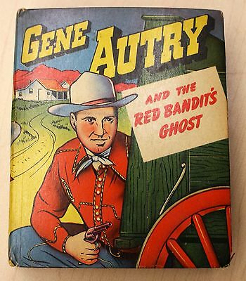 Vintage 1946 Better Little Book Gene Autry & The Red Bandits Ghost Comic Western