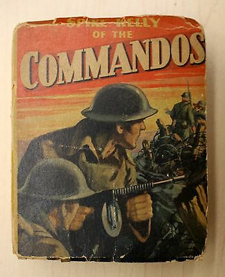 Vintage 1943 Better Little Book Spike Kelly Of The Commandos Comic Book # 1467
