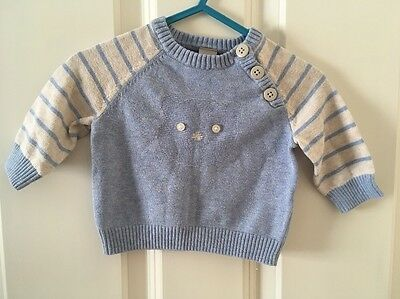 Baby Boy Jumper Up To 1 Month