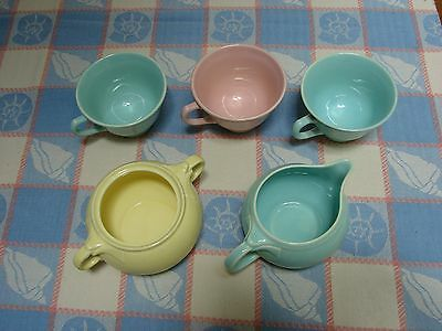 Vintage TS&T LuRay Pastels 5 Piece Lu-Ray Multiple Color Offer