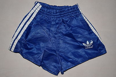 Adidas Shorts Short Pant Hose Sporthose Vintage West Germany Nylon Glanz Kid 140