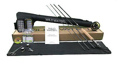 Wild Water DELUXE  5/6 Fly Fishing Starter Package