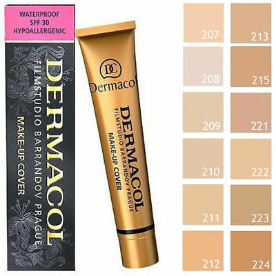 Dermacol High Covering Make Up Foundation Legendary Film Studio Waterproof