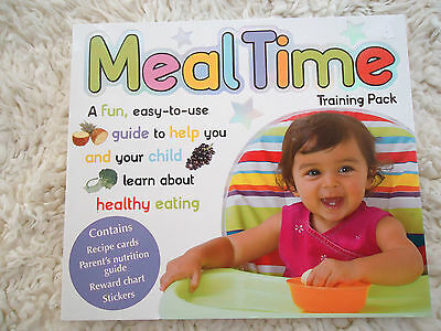 Mealtime Training Pack With Recipe Cards,reward Charts & More. H/b Immaculate