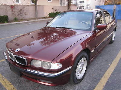 2001 BMW 7-Series Base Sedan 4-Door New trade auto ac navigation leather sunroof, looks and runs excellent warrantee