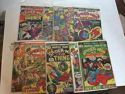 Marvel Team-Up Lot 1-Issues 3,5,6,7,8,10,11,12,13,14