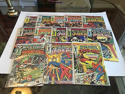 Spectacular Spider-Man Lot 2--Issues 1,3,4,6,7,8,9,10,11,12,13,14,15