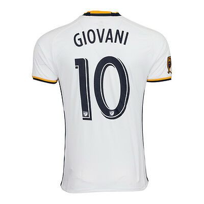 bb9ac5fa7 adidas LA Galaxy MLS Giovani  10 Men s Home Supporter Jersey 2017 18  Climacool